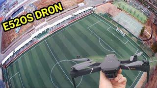 Палёт на квадрокоптер E52OS Лучше дрон