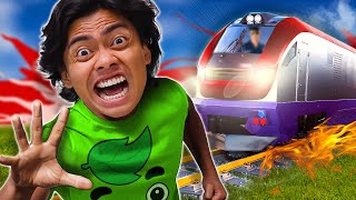 10 THINGS NOT TO DO ON A TRAIN 2 🤯😭