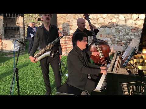 Ricca Sax Trio Trio Sax Piano Contrabbasso Brescia Musiqua