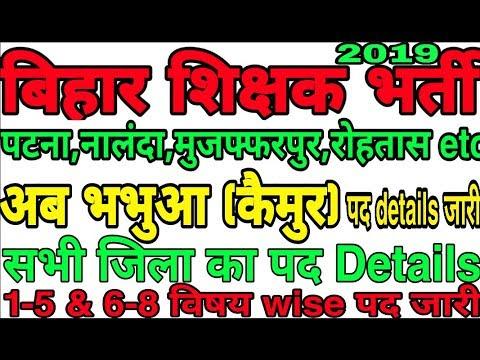 Bihar Job Portal Bihar Teacher Niyojan Selection Process