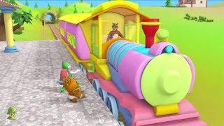 Gaadi Aayi Plane Aaya | Kids Rhymes Hindi | Bal Geet | Nursery Rhymes in Hindi by LittleTreehouse