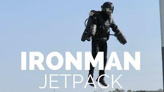 Ironman Jet Pack Richard Browning Flying At Hiller Aviation