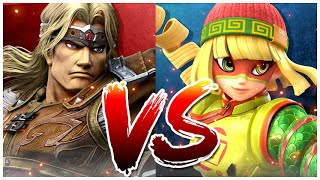 Super Smash Bros Ultimate DLC Min Min Vs Simon Belmont