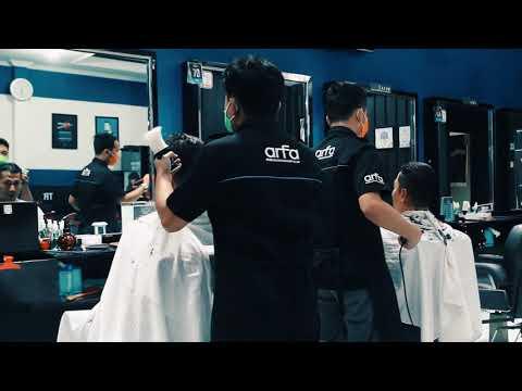 Arfa Barbershop Rebranding