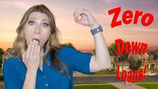 No Money Down Mortgage Programs | Little Money Down Mortgages | Zero Down Mortgages