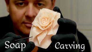 SOAP CARVING  | Soap Flowers | Soap Art