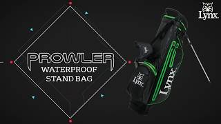 NEW 2018 Lynx Prowler Waterproof Stand Bag