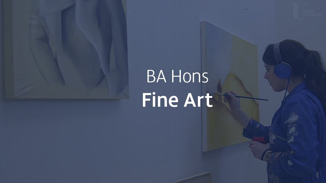 Students talk about the Ba Hons Fine Arts
