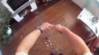 Паук рыболовный складной