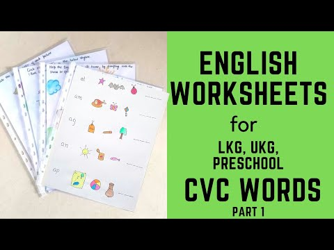 Teach Reading To 4-6 Years Old - Part 1