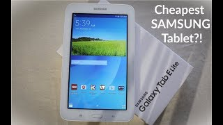 Checking Out The Cheapest Samsung Galaxy Tab E Lite In 2018! (Black Friday Deal?)