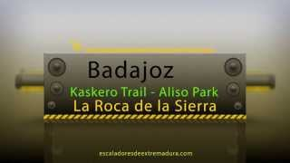 preview picture of video 'Intro Aliso Bike Park y Trail T2 Víbora (La Roca de la Sierra,Badajoz)'