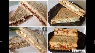 After School Kids Snacks | Quick Sandwiches on lazy days |  Quick Sandwiches for Kids | Bread Snack