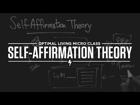 Micro Class: Self-Affirmation Theory