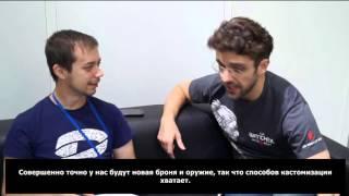 Ведьмак 3: Каменные Сердца — Интервью на Игромире 2015