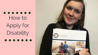 Tips for Applying for Disability Benefits