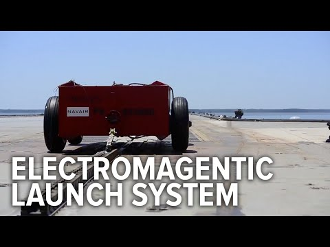 Watch This Awesome Electromagnetic Catapult Test On An Aircraft Carrier