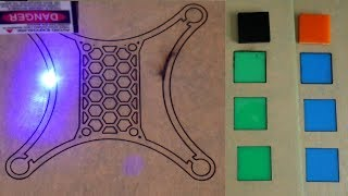 Laser Cutting Acrylic at Home