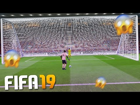 PLAYING FIFA 19 WITH HUGE GOALS!