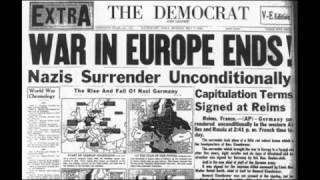 World War II - Victory in Europe Day