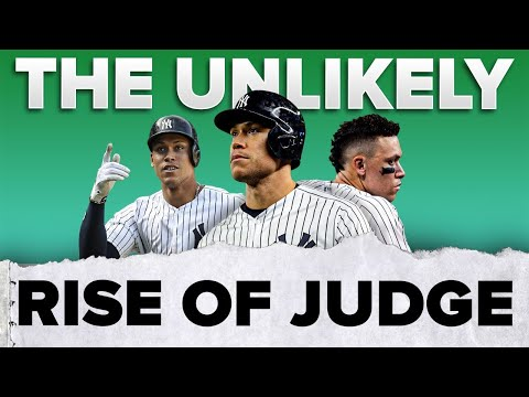 The UNLIKELY rise of Aaron Judge 💪🏽| #shorts