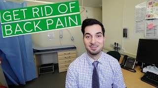 Lower Back Pain | Lower Back Pain Exercises | How To Get Rid Of Back Pain (2019)