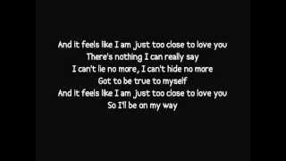 Alex Clare   Too Close Lyrics Video