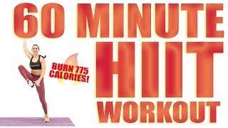 60 Minute HIIT Workout 🔥Burn 775 Calories! 🔥
