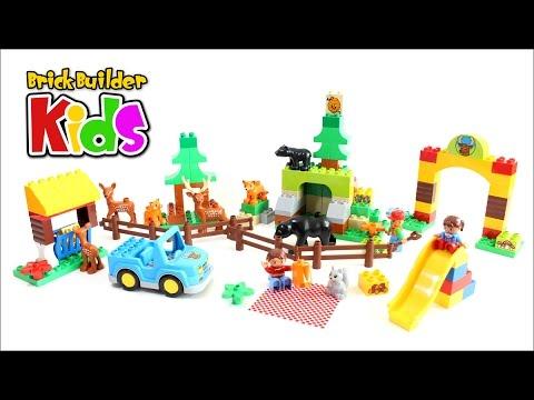 Vidéo LEGO Duplo 10584 : Le parc de la forêt