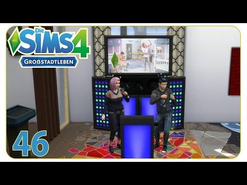 Die eigene Karaokemaschine im Haus #46 Die Sims 4 Großstadtleben - Spezialreihe 46/50