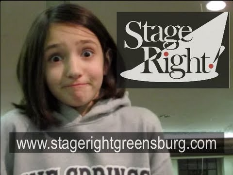 Preteen Acting Class: TV Commercial Demos -- Stage Right