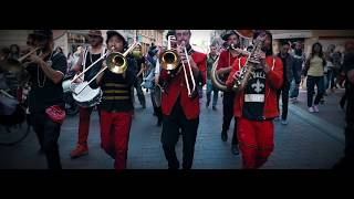 Brass Band Second line in Toulouse (FR)