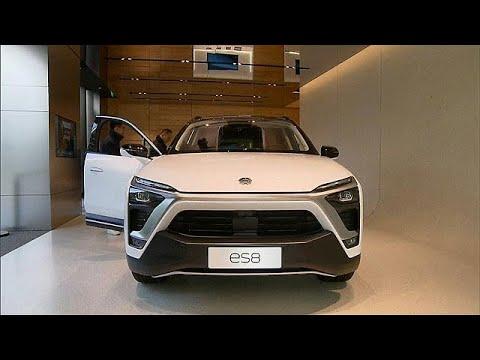 Chineses da NIO apresentam novo SUV eléctrico