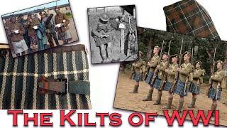 How Were World War One Kilts Made?