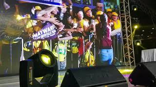 Maymay Entrata performance at SunPIOLOgyDUO run