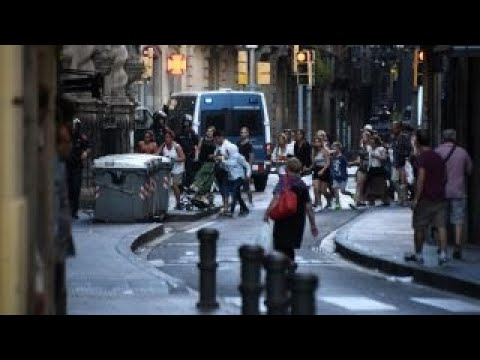 Manhunt intensifies for driver in Barcelona van attack