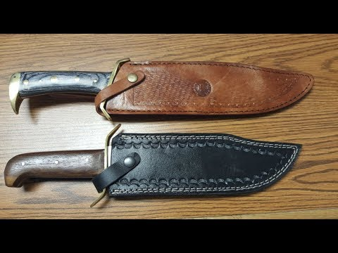 Big-Knife Review: Szco Supplies vs Timber Rattler Bowie Knives