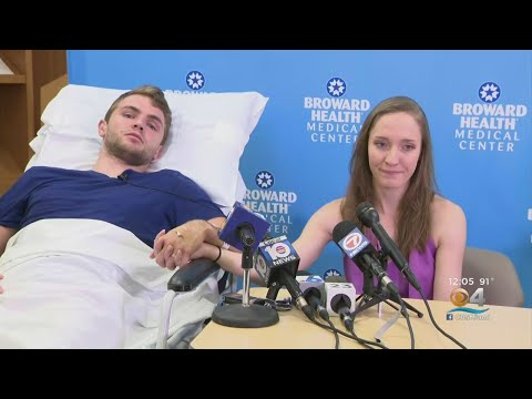 Man Injured In Fall Into Volcano Crater During Honeymoon Recovering At Fort Lauderdale Hospital