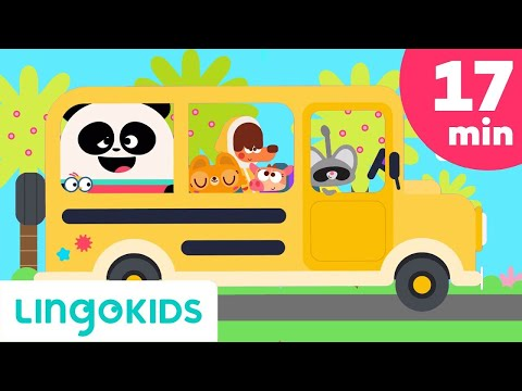 Wheels on the Bus + More Songs for Kids - Learning about the World Compilation | Lingokids