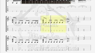 Evergrey   A Scattered Me GUITAR 1 TAB