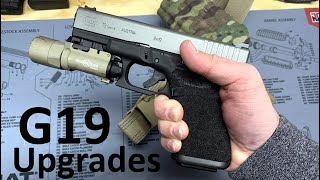 Glock 19 Stippled and Cerakoted by TYR Defense