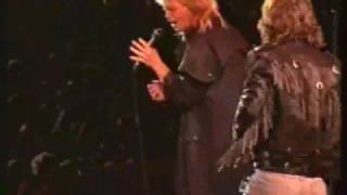 John Farnham Jimmy Barnes - When The War Is Over - Live 1988