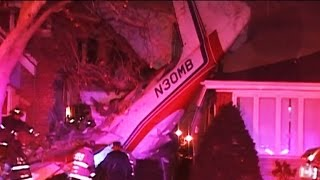Plane Crashed Less Than One Foot Of Homeowners In Chicago