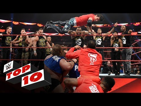 Top 10 Raw moments: WWE Top 10, Nov. 18, 2019