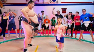 Survive 1 minute with a Sumo, WIN $1000!