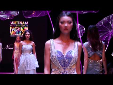NINA NAUSTDAL Showcase Vietnam International Fashion Week 2016