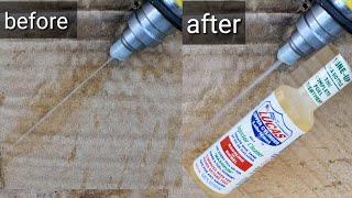 Lucas fuel injector cleaner stop