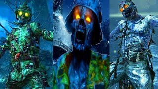 ALL SNOW ZOMBIE MAPS IN ONE GAME (Origins, COTD, The Giant, Der Eisnedrache)