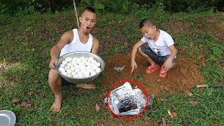 Trứng Vịt Chui Lòng Đất Và Cuộc Thi Ăn 100 Quả trứng Vịt Lộn Cực Kỳ Gay Cấn Giữa Mao Đệ & Mao Ca