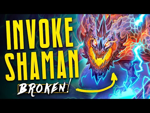 Most BROKEN Deck in ALL Hearthstone History? | Galakrond Shaman | Descent of Dragons | Hearthstone